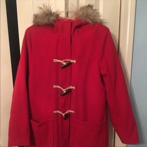 Abercrombie and Fitch Toggle Coat